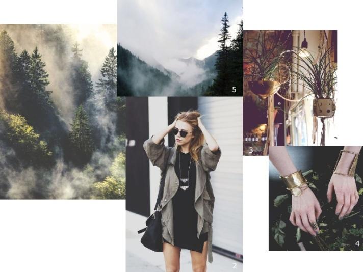 inspiration collage darkgreen