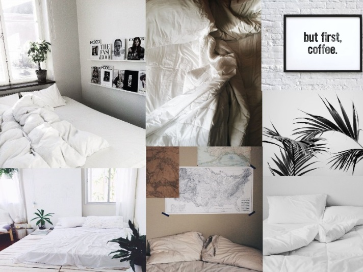 moodboard cozy mornings