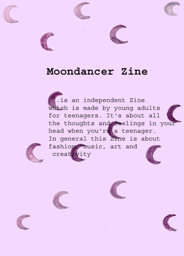 about moondancer zine